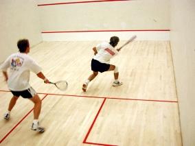 squash spielen